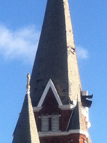 Damaged Steeple